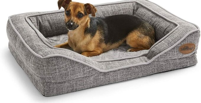 The 10 Best Orthopaedic Dog Beds For Small Dogs 2021 Reviews Pet Top 10